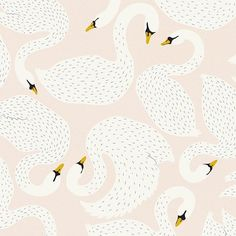 #swan #pattern #illustration #evelinetarunadjaja
