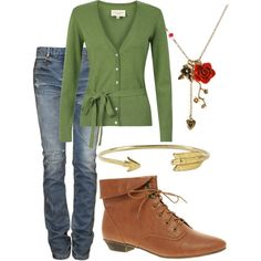Robin Hood, created by disneyfashions13 on Polyvore
