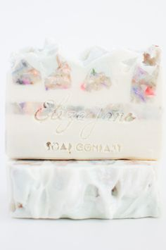 LInen and Lace Luxury Soap bar by Eliza Jane Soap Company - Spring 2015