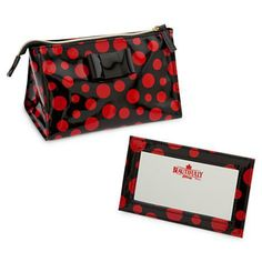 Beautifully Disney Cosmetic Bag with Mirror - Pop of Minnie