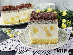 Ala piecze i gotuje: Ciasto makowo ananasowe Polish Recipes, Food Cakes, Vanilla Cake, Panna Cotta, Ale, Cake Recipes, Cheesecake, Deserts, Pudding