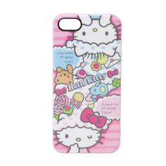 Hello Kitty iPhone 5 Cover Case Soft Type Colorful Dream Sanrio