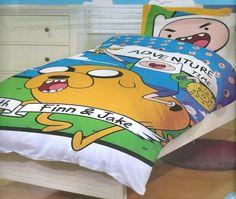 Adventure Time Bedding Queen Quilt Duvet Cover Set