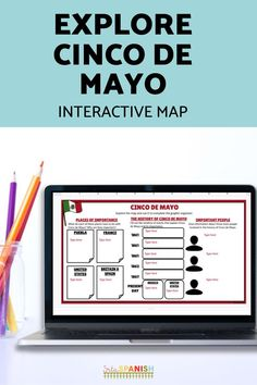 These low-prep, post and go activities are a great way to celebrate Cinco de Mayo with your Spanish students! Students explore a digital interactive Google Map and complete a graphic organizer on Google Slides or comprehension questions for a great activity to explore the history of Cinco de Mayo in your novice middle school and high school Spanish class. Spanish Lesson Plans, Spanish Lessons, Spanish 1, Spanish Activities, Class Activities, Middle School Spanish, Virtual Field Trips, Spanish Classroom, Comprehension Questions