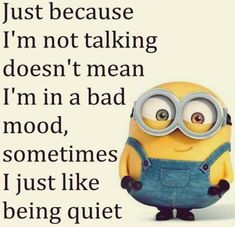 Cute Funny Minion Quotes gallery AM, Tuesday September 2015 PDT) – 10 pics Cute Minions, Minion Jokes, Minions Quotes, Minions Cartoon, Minion Stuff, Minions Minions, Evil Minions, True Quotes, Best Quotes