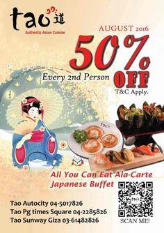 29 sep-31 dec 2016: sunway putra hotel weekend japanese buffet