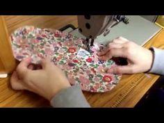 LUU アコーディオンポーチ Accordion pouch の作り方 - YouTube