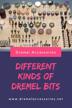 Any Dremel product that you buy will include Dremel bits as part of the package. Dremel bits are also an important part of the Dremel accessories, and are available in several variations, with each bit having its own specific function and use. Dremel Tool Bits, Dremel Werkzeugprojekte, Dremel Bits Guide, Dremel Tool Projects, Dremel 4000, Dremel Wood Carving, Dremel Rotary Tool, Carving Tools, Woodworking Projects