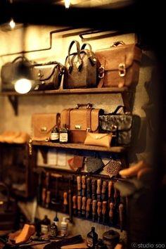 Studio Soo :: Leather Workroom.