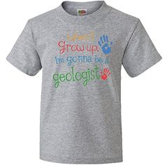Inktastic Big Boys Geologist Future Youth TShirt Youth XSmall 24 Athletic Heather >>> Check this awesome product by going to the link at the image.Note:It is affiliate link to Amazon.