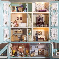 Classic Doll Houses On Pinterest Doll Houses Miniatures And Furniture