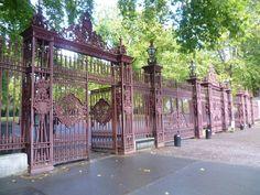 Queen's Gate, Kensington Gardens. Queen's Gate is a major street in South Kensington, London, England