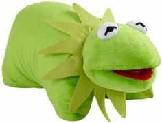 Amazon.com: My Pillow Pets Authentic Disney 18-Inch Kermit Folding Plush Pillow, Large: Home & Kitchen