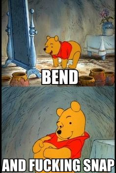 haha winnie the pooh meets legally blonde :)