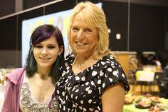 Ellen Hopkins with teen fan