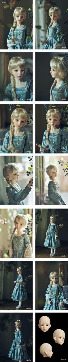 BJD Nerine 57cm Girl Ball-jointed Doll_SD size doll_Maskcat Doll_DOLL_Ball…