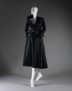"Christian Dior ""Abandon"" dress ca. 1948 via The Costume Institute of the Metropolitan Museum of Art"