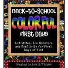 This colorful pack is perfect for celebrating the first days of school and getting your kiddos to talk and learn about each other. I wanted to make...