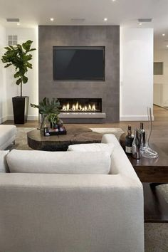 amazing tv wall design ideas for living room decor - amazing tv wall de. - amazing tv wall design ideas for living room decor – amazing tv wall design ideas for li - Simple Living Room, Living Room Grey, Living Room Modern, Home Living Room, Living Room Designs, Living Room Decor, Apartment Living, Small Living, Modern Contemporary Living Room