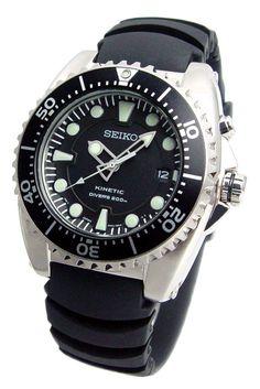 Seiko Kinetic Diver's Watch 200m SKA371P2 Men's Watch