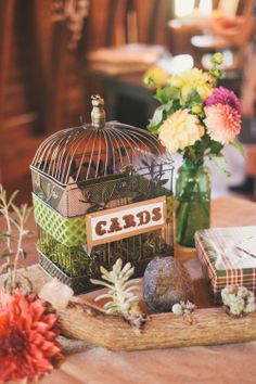 Items similar to Wedding Bird Cage Gift Card Holder on Etsy Wedding Show, Wedding Table, Rustic Wedding, Gift Card Displays, Wedding Inspiration, Wedding Ideas, Wedding Details, Wedding Stuff, Wedding Rings Vintage