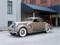 1936 Lincoln K V-12 Coupe. This is body number 26 of 26 LeBaron coupes built in 1936.