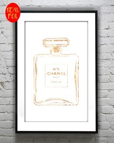 Coco Designer Perfume Bottle No 5 Perfume CC by PinkDaisyBunny