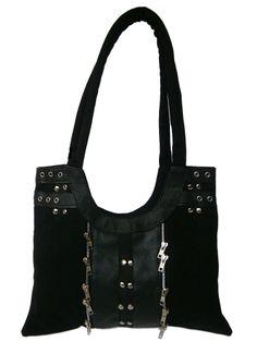 Sale Clearance 40% Off Dead Threads Zip & Rivet Bag Black Alternative BIG SALE NOW ON AT mouseyessim on ebay