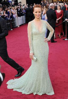 Bernice Bejo in Elie Saab - Oscars 2012