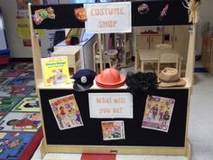 Dramatic play costume shop