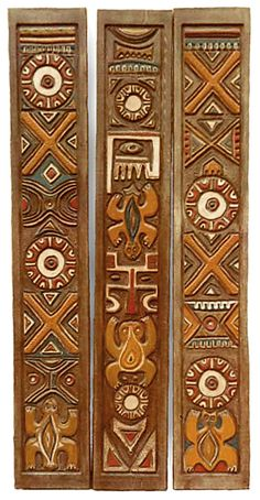 OCEANIC ARTS Catalog - Carved Wood Moldings & Trim