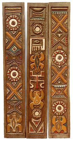 From Oceanic Arts catalog Wood Molding Trim, Moldings And Trim, Tiki Art, Tiki Tiki, Deco Cuir, Tiki Head, Tiki Decor, Polynesian Art, Tiki Lounge