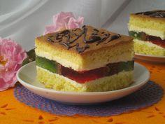 Jak w każdą sobotę zapraszam na pyszne ciasto. Tym razem mam dla Was przepis na ciasto biszkoptowe z galaretką i kremem budyniowym, doskonał...