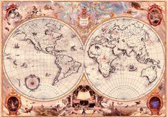 Wizarding Schools Map