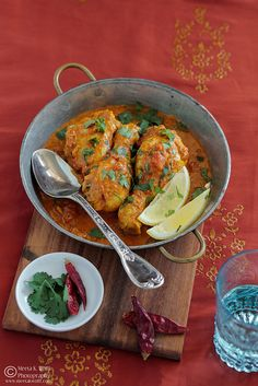 The basics of an Indian Chicken Curry