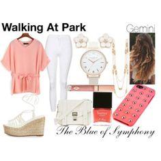 Walking at Park-Gemini
