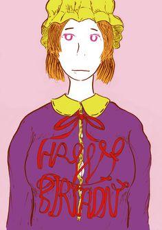先輩の誕生日に。 「東方 メリー」