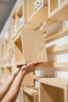 The best DIY projects & DIY ideas and tutorials: sewing, paper craft, DIY. Best DIY Furniture & Shelf Ideas 2017 / 2018 Design firm Brigada have designed the interior of AlpStories, a concept store for a Slovenian cosmetics Woodworking Plans, Woodworking Projects, Woodworking Techniques, Woodworking Beginner, Intarsia Woodworking, Woodworking Furniture, Woodworking Articles, Woodworking Quotes, Woodworking Joints