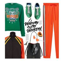 Casual Weekend Outfit by beebeely-look on Polyvore featuring Kenzo, Gucci, Lauren Ralph Lauren, casual, weekend, sporty, gucci and weekendstyle