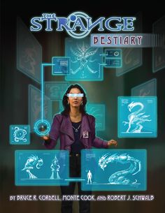 The Strange Bestiary - Monte Cook Games | The Strange | DriveThruRPG.com