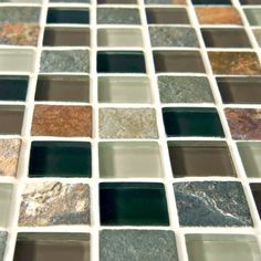 """Found it at Wayfair - Sierra 11.625"""" x 11.625"""" Glass and Natural Stone Mosaic Tile in Stonehenge"""