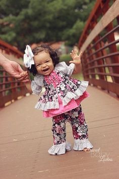 Baby Caroline's Princess Top PDF Pattern by CreateKidsCouture