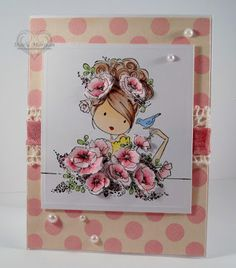 Uptown Girl Fions loves flowers  Twinshappy: Stamping Bella's Blog Hop with CardMaker Magazine