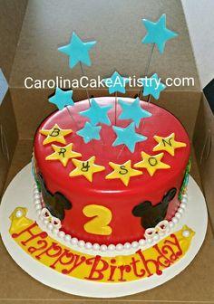 Sweet Mickey Mouse Birthday cake!