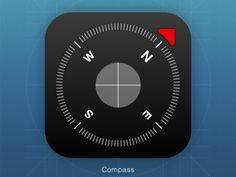 Compass iOS icon
