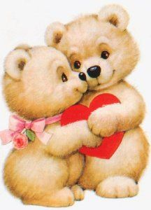by Florynda del Sol ღ☀¨✿ ¸.ღ ♡♥♡Happy Valentine's day! Cute Teddy Bear Pics, Teddy Bear Cartoon, Big Teddy Bear, Teddy Bear Pictures, Cute Bears, Hug Images, Love Images, Teddy Beer, Beautiful Love Pictures