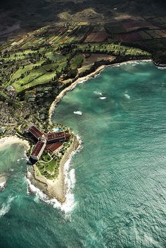 Look out point aerial: #Oahu, #Hawaii.