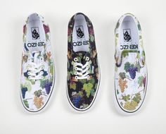 bcb49cd575c7cb Another look through the men s footwear collection from Paris  KENZO and  Vans Sneakers in various color packs.