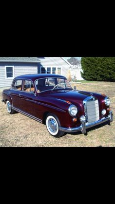- 1959 Mercedes-Benz - The Best or Nothing.😍 - The Adorable Ponton. Mercedes Benz 220, Mercedes Benz Cars, Far, Automotive Art, Volvo, Classic Cars, Automobile, Memories, Amazon