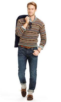 3d523c808da7 Pull Fair Isle en laine de mérinos - Polo Ralph Lauren Cols ronds - Ralph  Lauren France